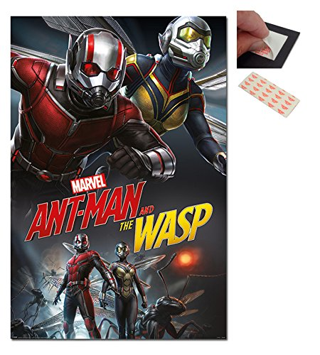 Ant-Man And The Wasp Dynamic Poster - 91.5 x 61cms