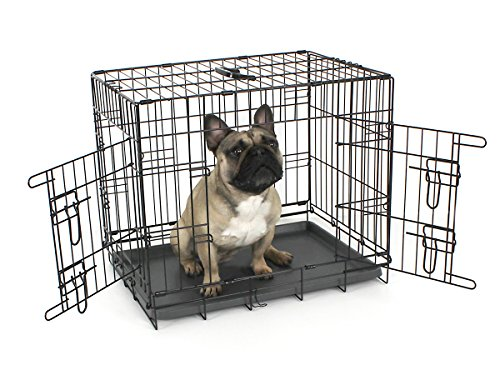 Omlet Fido Classic 24'' Premium Two Door Folding Dog and Puppy Crate by Omlet