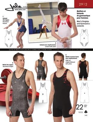 Amazon Jalie Mens Boys Singlets Gymnastics Leotards Biketard
