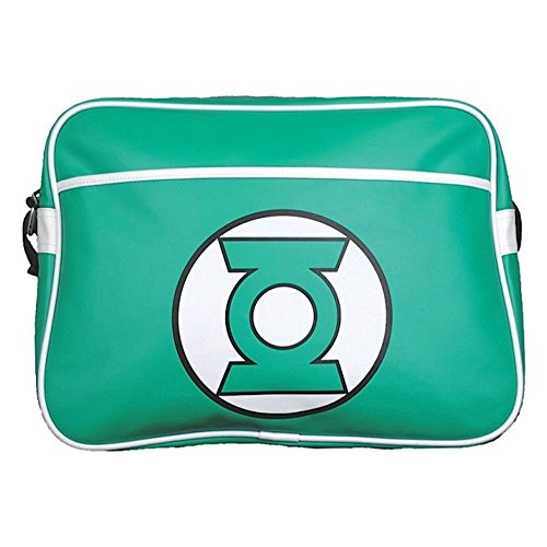 Green Lantern Lanterna Verde Shoulder Borsa Bag Logo Half Moon Bay