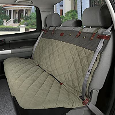 Solvit 62435 Premium Extra-Wide Bench Seat Cover, Green