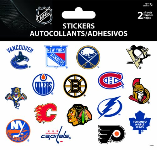 Nhl Sticker Sheet - 7