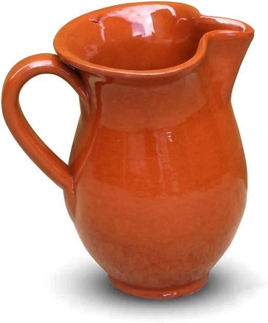 Jarra de sangría de vino de cerámica española Valdearcos florero - 1/2 litros/0,5 litro: Amazon.es: Hogar