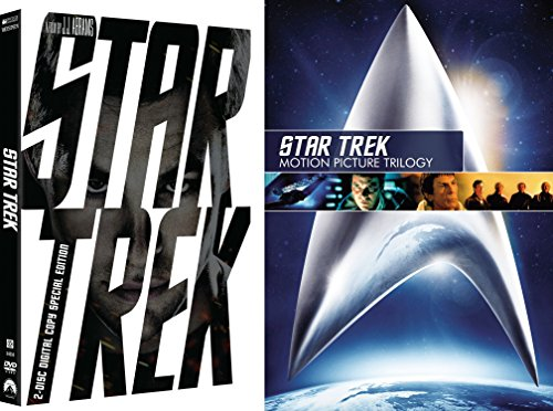 Star Trek STAR TREK MOTION PICTURE TRILOGY SD DVD + 2 Disc Special Edition Sci-Fi Set