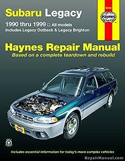 h89100 subaru legacy 1990 1999 haynes automotive repair workshop rh amazon com Subaru Forester Subaru Liberty Problems