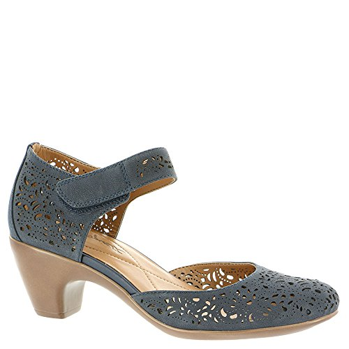 Easy Spirit Womens Cindie Dress Pump Blu Navy Brillante