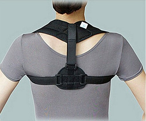 Posture Support Clavicle Brace for Upper Back & Thoracic Spine, The Most Comfortable & Top Correction Device to Fix Hunched Shoulders & Reduce Neck Pain.