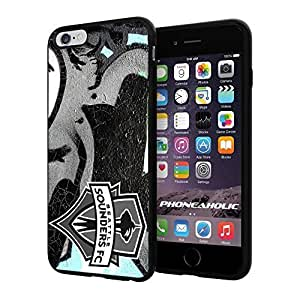 Soccer MLS Seattle Sounders FC ,Cool iphone 5c Smartphone Case Cover Collector iphone TPU Rubber Case Black