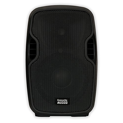 Acoustic Audio AA8UB Powered 600W 8'' Bluetooth Speaker 2 Way USB MP3 Player by Acoustic Audio by Goldwood