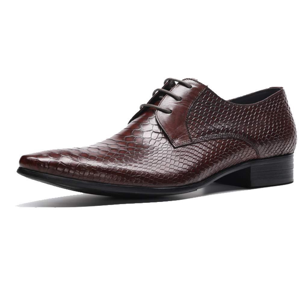 Vävda YCGCM Män, läderskor, läderskor, läderskor, England, Pointed, Lace, Business, Weasure  kvalitetsprodukt