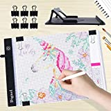Diamond Painting Pad, Dignel Diamond Painting Kits, A4 LED Light Pad Board Tablet Apply to 5D DIY Diamond Painting Watercolour Copy Quilting Tracing