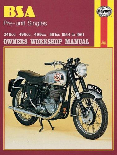 BSA Preunit Singles, 1954-61 (Haynes Repair Manuals) Bsa Unit