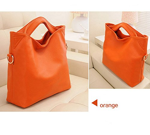 Eysee - Cartera de mano para mujer Rojo azul 37cm*24cm*15cm naranja