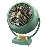 Vornado VFAN Sr. Vintage Air Circulator Fan, Green
