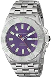 ANDROID Men's AD702BPU Corsair Analog Japanese-Automatic Silver Watch