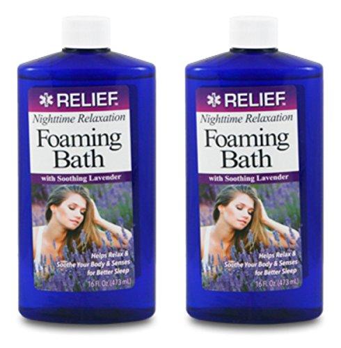 [Lot of 2 Foaming Lavender Bath Soap 16 oz/each bottle] (European Plain Base)