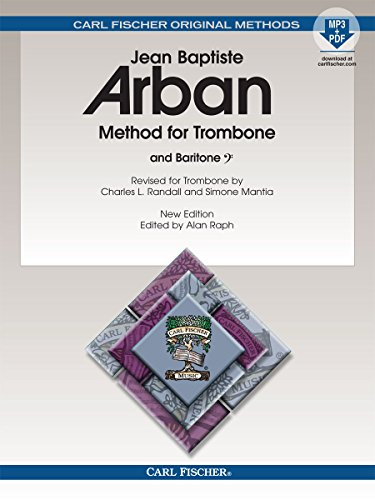 O23X - Arban Method For Trombone and Baritone - Book/MP3