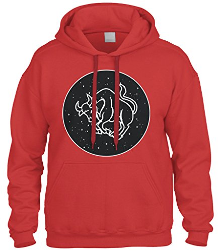 Cybertela Telescope View Of Taurus Sign Sweatshirt Hoodie...