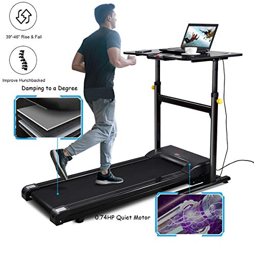 Our Brand New Treadmill Desk Combines Office Treadmill With Standing Desk,  Providing Everything You Need To Begin Walking While You Work.