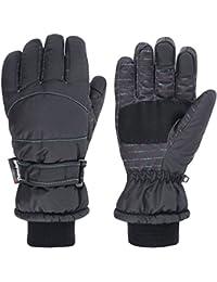 Women's Winter Waterproof Touchscreen Ski Gloves