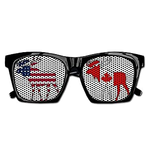 Canada Flag Moose Unisex Polarized Party Sunglasses Resin Frame Eyewear Favor Mesh Lens Sun Glasses