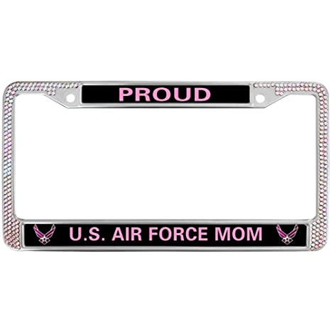 Amazon.com  GND License Plate Frame for Women Bling 66625352ed