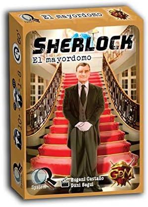GM Games- Sherlock: el mayordomo Juego de investigación, Color ...