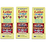 Funny Teddy Tambola Tickets - 600 Tickets (1 Book) | Each Book Contains 600 Tickets | Bingo Game Tickets | Paper Tickets
