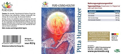 Pureveda Pitta Harmonizer mit Amalalaki