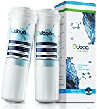 water filter 836848 - Odoga Fisher & Paykel 836848, E522B, EFF-6017A Premium Compatible Refrigerator Water Filter 2-Pack