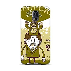 Excellent Cell-phone Hard Cover For Samsung Galaxy S5 (ble2041TDDT) Customized Lifelike Death Cab For Cutie Band D.C.F.C Pictures