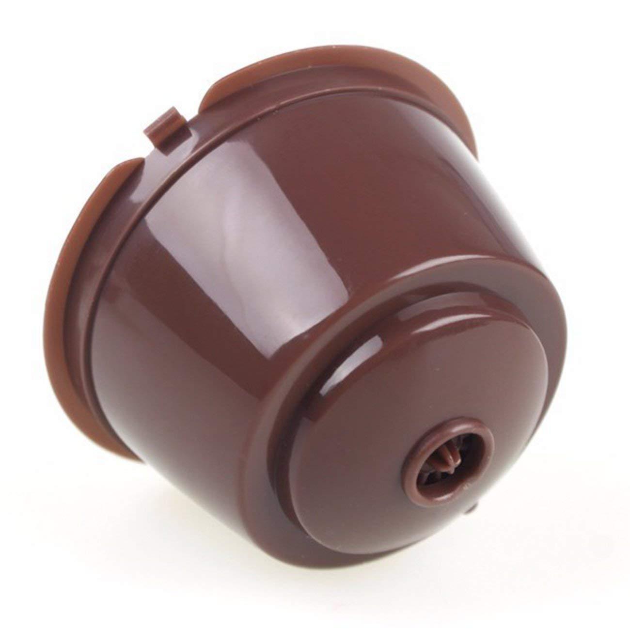 Marr/ón C/ápsulas de caf/é rellenas port/átiles C/ápsula de Filtro de caf/é C/ápsula de Filtro Caja de Filtro para Dolce Gusto para Nestl/é