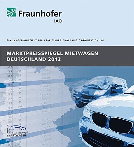 Marktpreisspiegel Mietwagen Deutschland 2012.