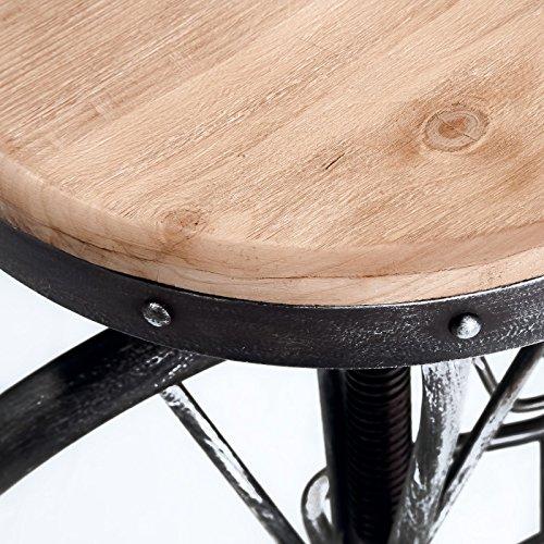 (Best Selling Michael Bicycle Wheel Adjustable Bar Stool)