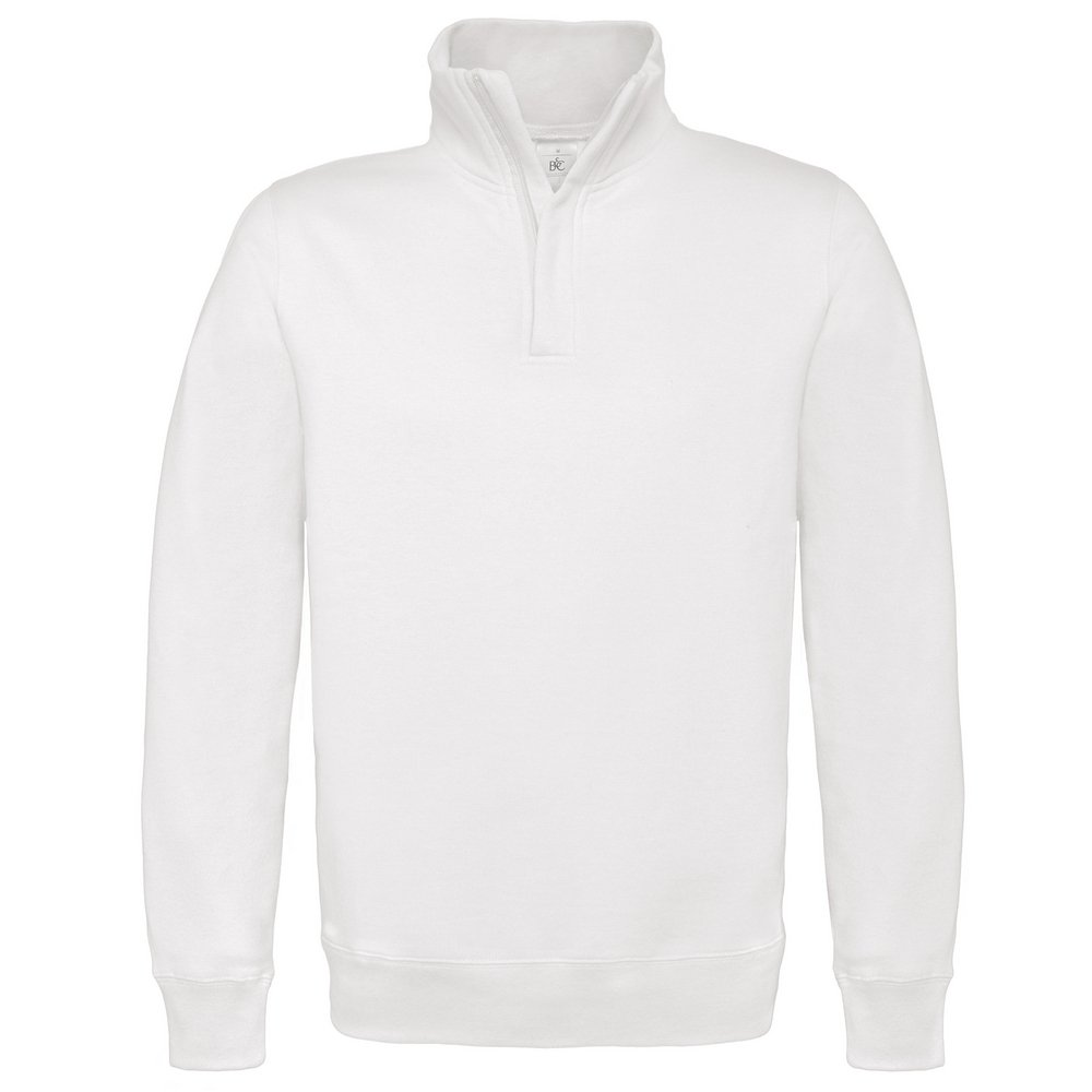 B&C Collection ID.004 ¼ zip sweatshirt