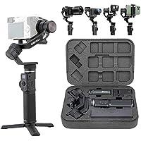 FeiyuTech G6MAX - Estabilizador Todo en uno, 3 Ejes, Universal para teléfonos móviles, cámaras Sony RX100, A6300, A6400…