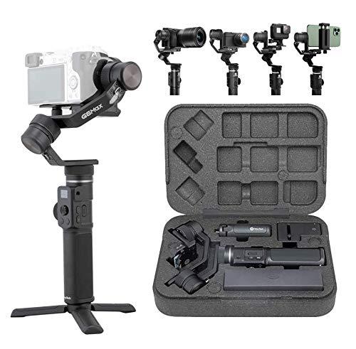 FeiyuTech G6MAX - Estabilizador Todo en uno, 3 Ejes, Universal para telefonos moviles, camaras Sony RX100, A6300, A6400, A6500, camaras reflex Digital sin Espejo y camaras de accion Gopro, Sony RX0