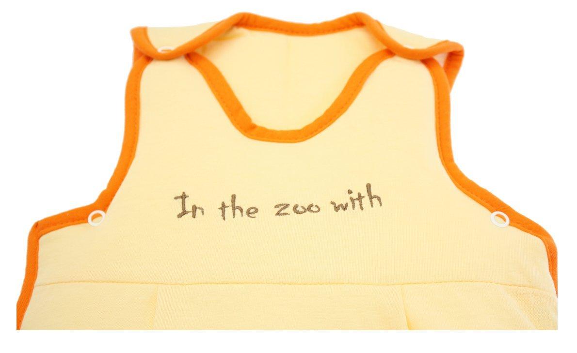 Slumbersac - Saco de dormir de verano para bebé, 0,5 Tog, 0-6 meses, diseño de zoo: Amazon.es: Bebé