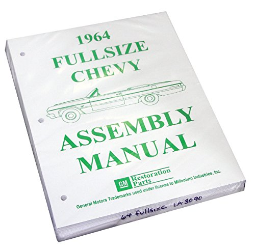 (Inline Tube (I-2-14) Factory Assembly Manual for 1964 Full Size Chevrolet Chevy Impala and Bel)
