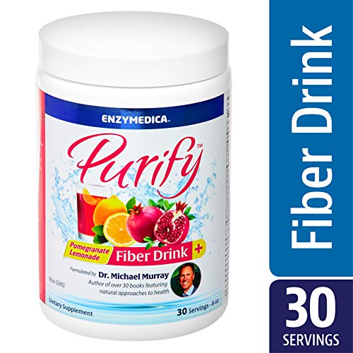 Enzymedica - Purify, Pomegranate Lemonade Fiber Drink Mix, 30 Count
