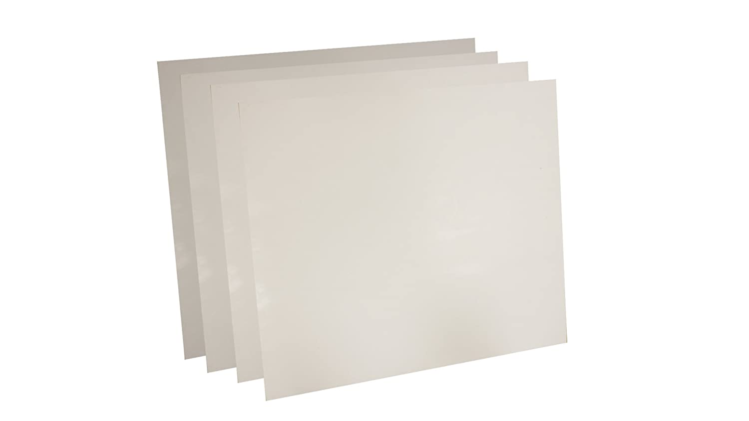 Sur-Seal Inc of NJ 1//16 Thick 6 x 6 Pack of 4 Pack of 4 6 x 6 Sterling Seal 7530.0626x6x4 White Virgin Teflon 7530 Sheet 1//16 Thick
