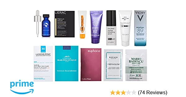Luxury Skin Care Sample Box (get an equal credit toward future purchase of select Luxury Beauty products)
