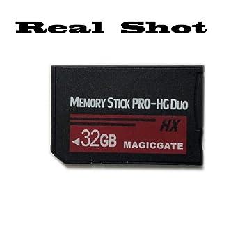 Amazon.com: Memory Stick PRO-HG Duo 32GB(HX) PSP1000 2000 ...