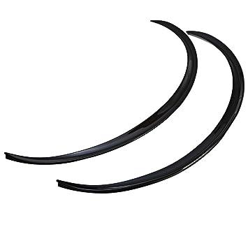 Hemore 2 unids Fibra De Carbono Fender Flares Pegatinas Tiras de Labios Ruedas Ceja Decoración Longitud 72 cm Negro para Mujeres Hombres Jovenes: Amazon.es: ...