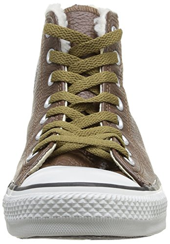 Converse Unisex-Adult Chuck Taylor All Star Adulte Shearling HI Trainers Chocolate/White cheap sale looking for b50F4