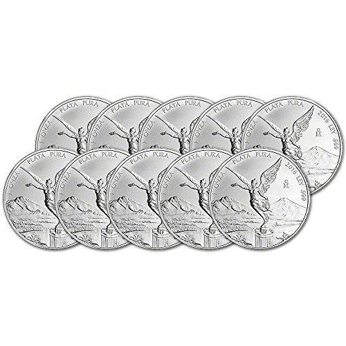 mx-2016-mexico-silver-libertad-ten-10-1-oz-coins-brilliant-uncirculated