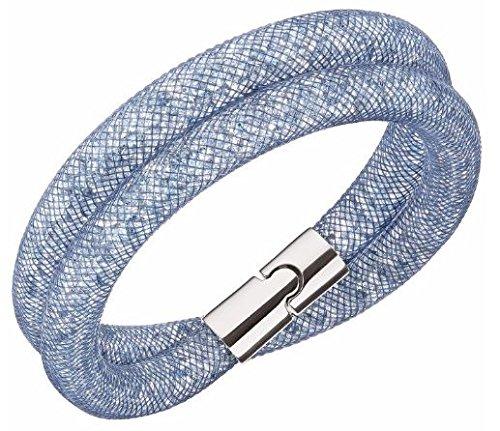 Swarovski Stardust Blush Blue Double Bracelet - 5169592