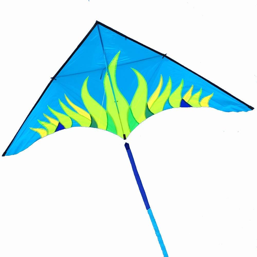 凧,春の空飛ぶ凧の希望 大きい オーロラ カイト (色 三角形 大きい 大人 傘布 ロングテール 三角形 空飛ぶ物 (色 : 青) B07QP8M3NN 青, イシカリシ:1b9fada0 --- ferraridentalclinic.com.lb