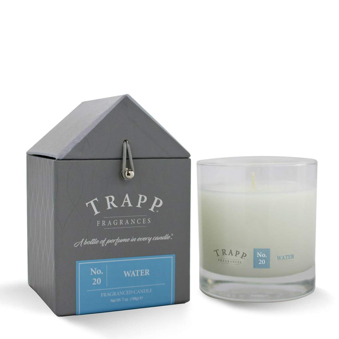 Trapp Signature Home Collection No. 20 Water Poured Scented Candle, 7 Ounce - Set of 2