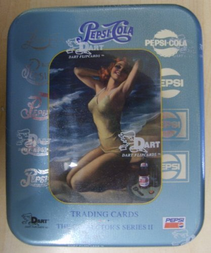 Pepsi Cola 2 Collector's Series II Trading Cards Tin -36 Count ()
